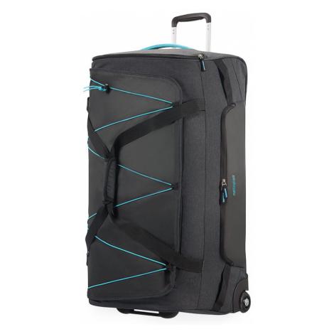 American Tourister Cestovní taška Road Quest 114 l - tmavě šedá/tyrkysová