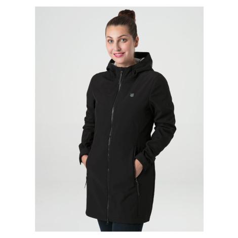 LECIKA women's softshell coat black LOAP