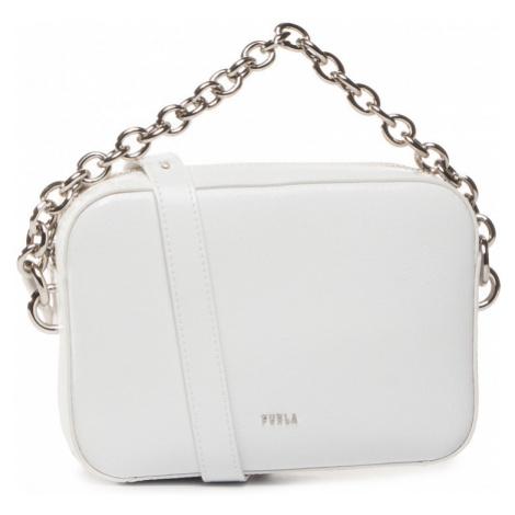 Bílá kožená kabelka - FURLA