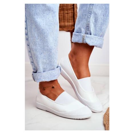 Sneakers On Slip On Sneakers White Justy Kesi