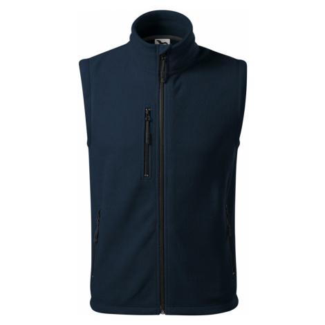 Malfini Exit Uni fleece vesta 52502 námořní modrá