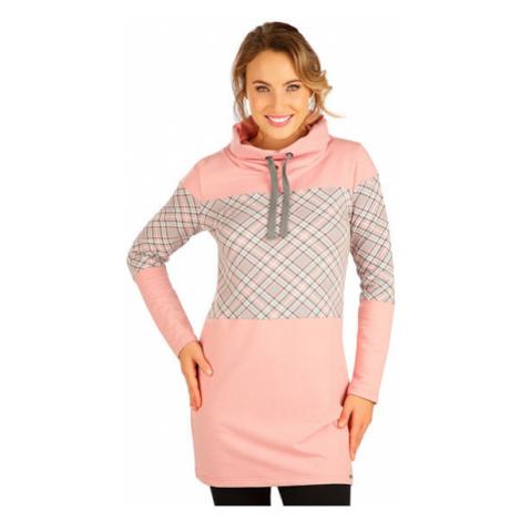 Dámské mikinové šaty s dlouhým rukávem Litex 5B212 | viz. foto