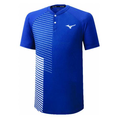 Pánské tričko Mizuno Shadow Polo Blue