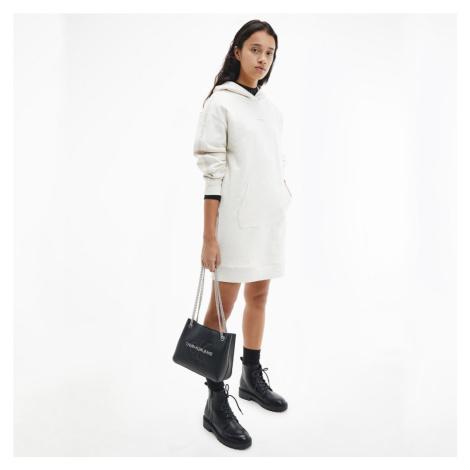 Calvin Klein dámské béžové šaty