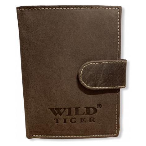 Pánská peněženka Wild Tiger Brown, hnědá