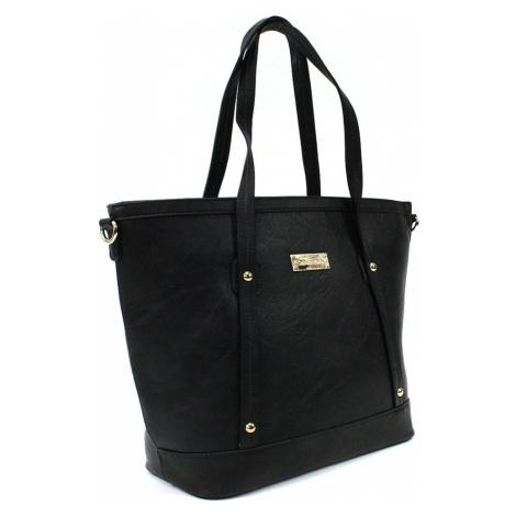Černá dámská elegantní kabelka do ruky i přes rameno Eloisa Cyntia-Calamio (PL)