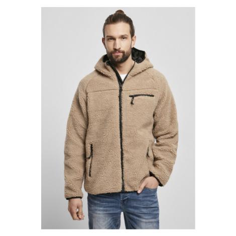 Brandit Teddyfleece Worker Jacket camel