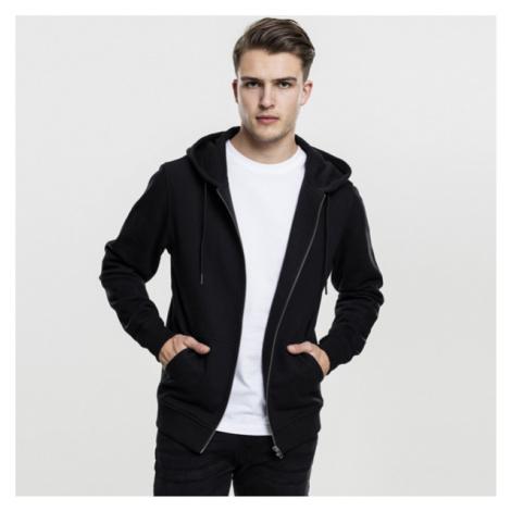 Mikina Urban Classics Basic Zip Hoody black