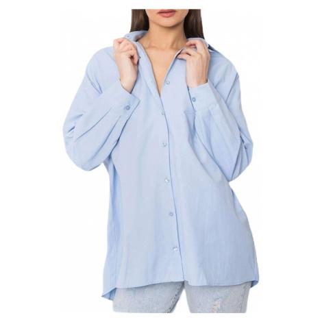 Světle modrá klasická košile Rue Paris