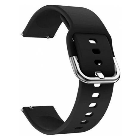 4wrist Silikonový řemínek - Černý 20 mm