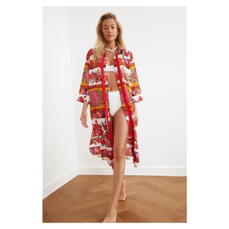 dámské plážové oblečení Trendyol Vual