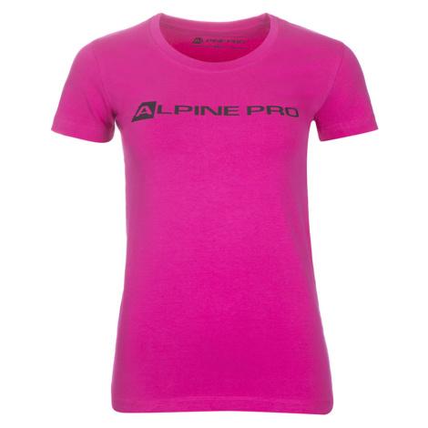 ALPINE PRO Dámské triko LTSM529411 fuchsiová
