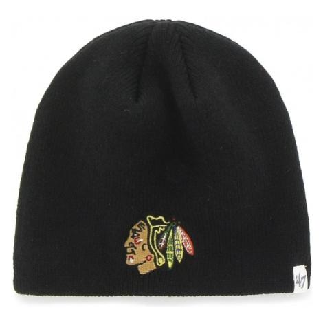 47 NHL CHICAGO BLACKHAWKS BEANIE černá - Zimní čepice