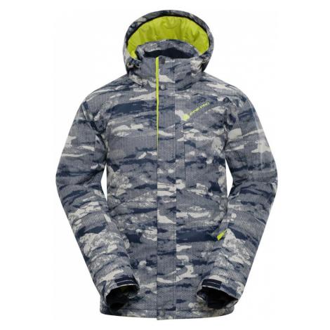 ALPINE PRO GLARNISH 4 Pánská lyžařská bunda MJCM307192 krémová