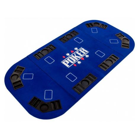Garthen M57302 Skládací pokerová podložka - modrá