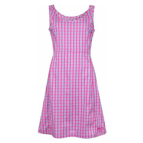 ALPINE PRO SENDRA Dámské šaty LSKN160415 Fuchsiová růžová