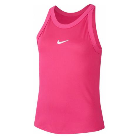 Dívčí tílko Nike Court Dri-Fit Vivid Pink,