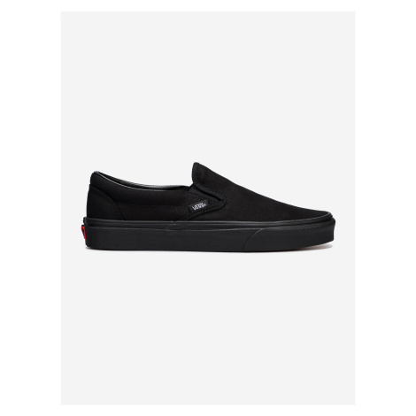 Boty Vans Ua Classic Slip-On Black/Black Černá