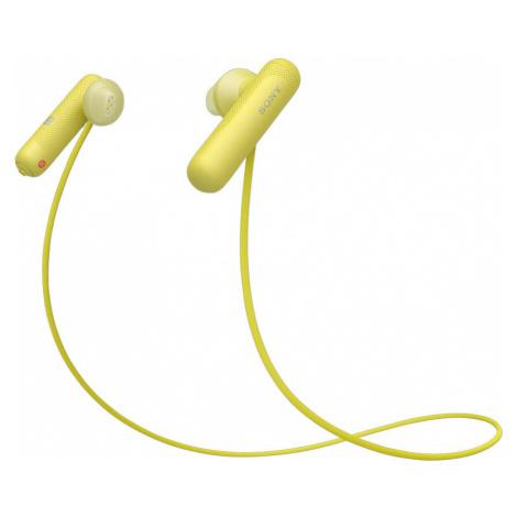 Sony WISP500Y.CE7 Sportovní bezdrátová sluchátka žlutá