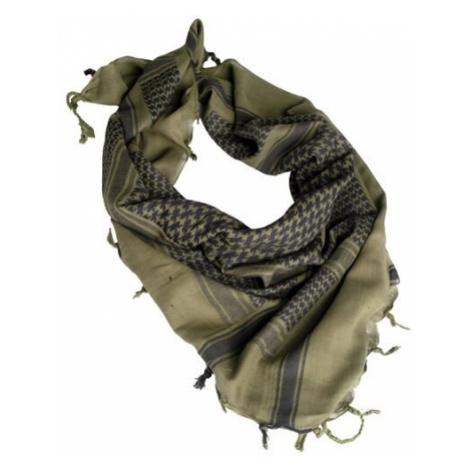 Šátek Palestin s třásněmi Mil-Tec® - olivovo-černý Mil-Tec(Sturm Handels)