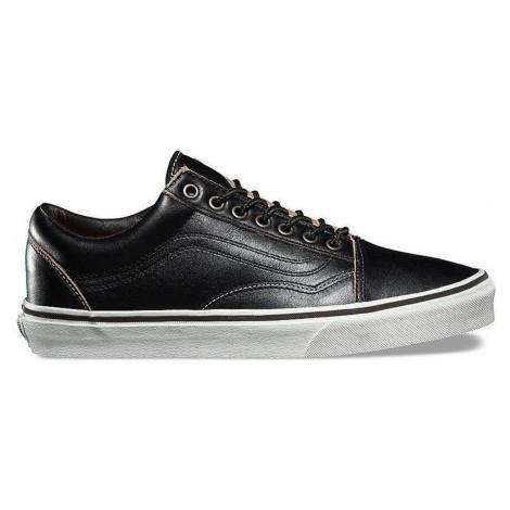Vans Old Skool All Black Leather černé VA38G1OE6