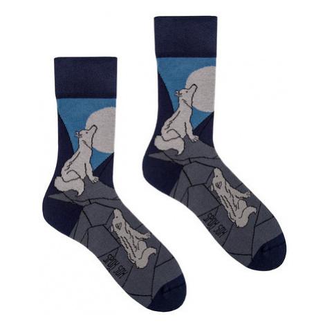 Ponožky Spox Sox - Vlčí vytí