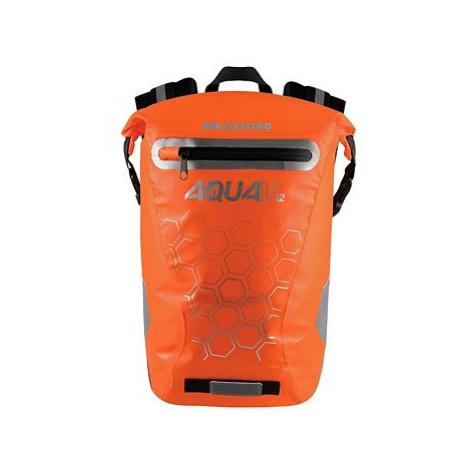 OXFORD Vodotěsný batoh AQUA V12 (oranžová, objem 12 L)