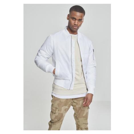 Basic Bomber Jacket - white Urban Classics