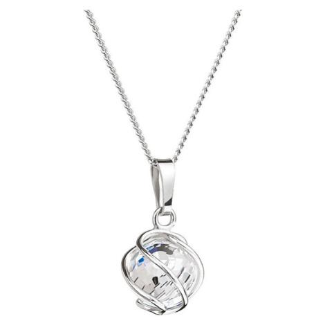 Preciosa Náhrdelník Romantic Beads Crystal AB 6715 42 (řetízek, přívěsek)