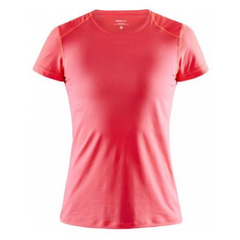 Dámské tričko CRAFT ADV Essence Slim SS světle červená