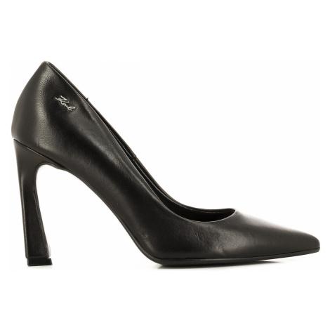 Lodičky Karl Lagerfeld Veneto Court Shoe - Černá