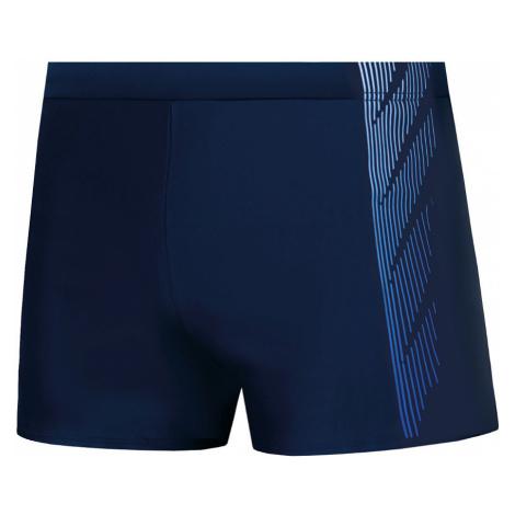 Pánské plavky boxerky Self S 96 E tmavě modrá