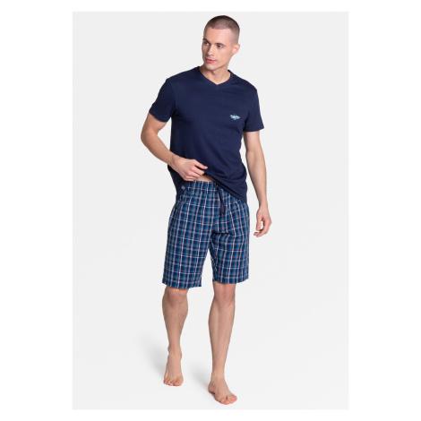 Pánské pyžamo Henderson 38884 Dream kr/r