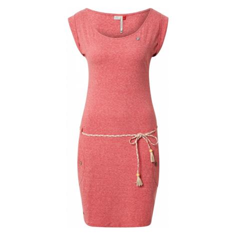 Ragwear Letní šaty 'Tag' tmavě růžová