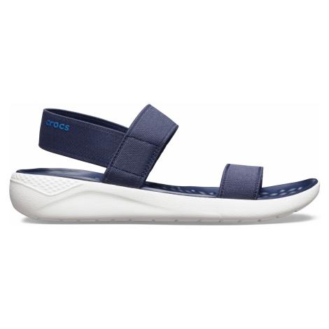 Crocs LiteRide Sandal W Navy/White W6