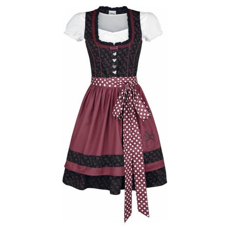 Mickey & Minnie Mouse Minnie Šaty cerná/cervená