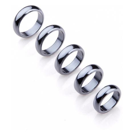 Buddhanaramek Hematitový magnetický prsten 0909 18mm