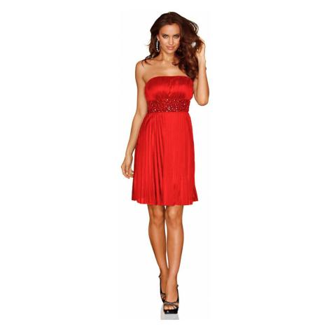 Laura Scott Evening Koktejlové společenské šaty Laura Scott Evening, společenské šaty červené