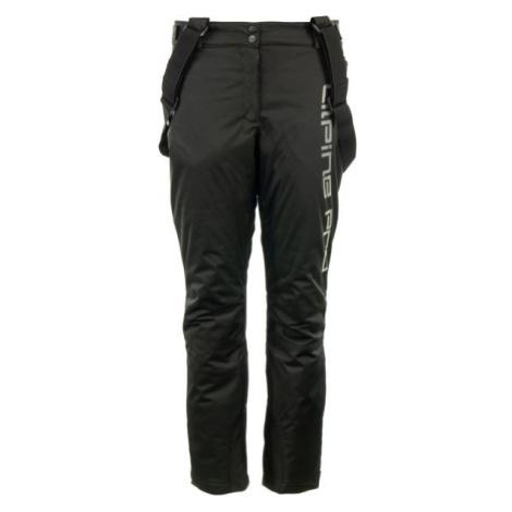 ALPINE PRO PADIA černá - Dámské lyžařské kalhoty