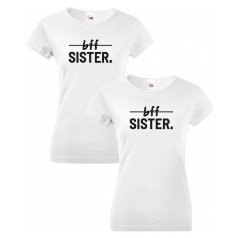Dámská trička Best Friends Sister pro nejlepší kamarádky BezvaTriko