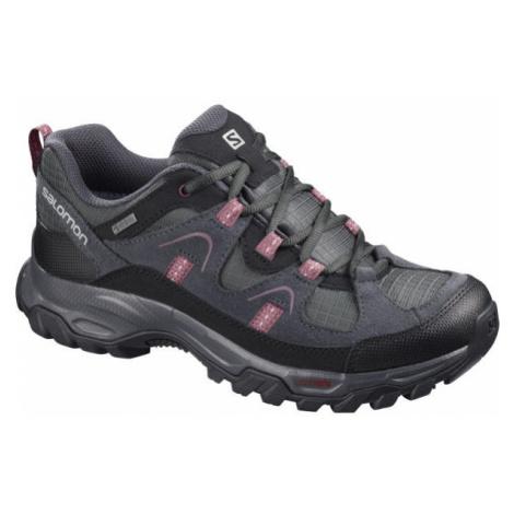 Salomon FORTALEZA GTX W šedá - Dámská outdoorová obuv