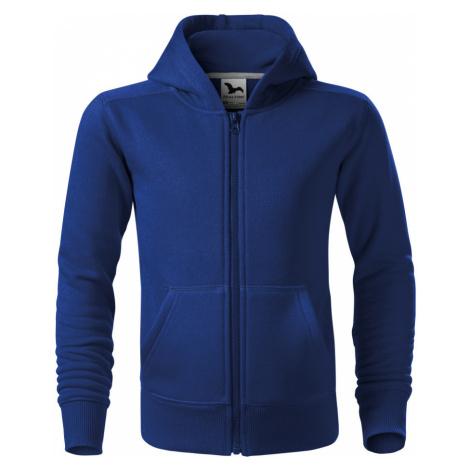 Malfini Trendy Zipper Dětská mikina 41205 královská modrá