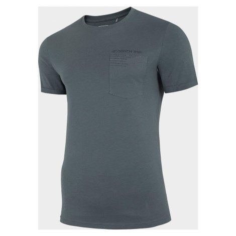 Pánské tričko 4F TSM228 Modré denim