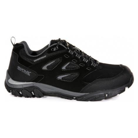 Pánská outdooorová obuv Regatta RMF572 Holcombe Černá Černá