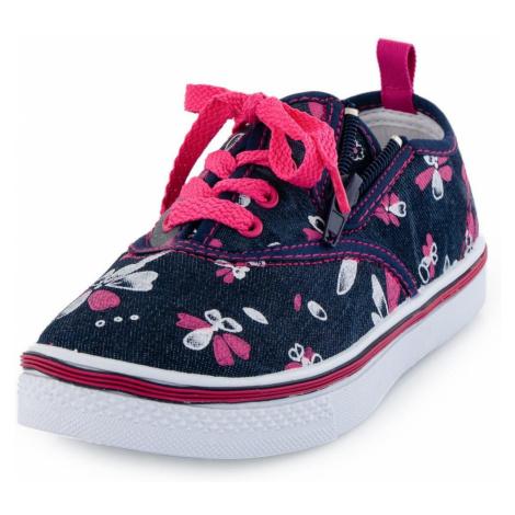 Dětská obuv Alpine Pro SAIRO - modro-růžová