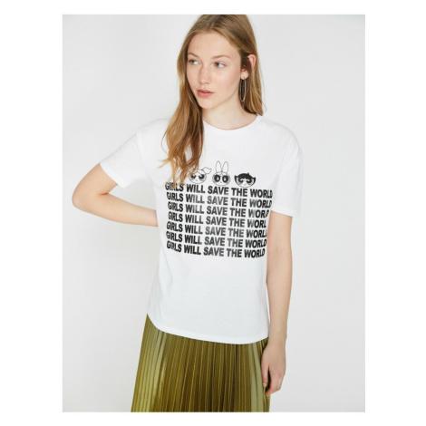Koton Powerpuff Girls Licensed Printed T-shirt