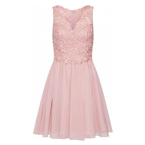 Laona Koktejlové šaty růže / bledě fialová