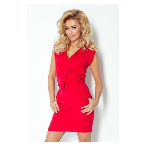 Dámské šaty Numoco 94-2 | červená