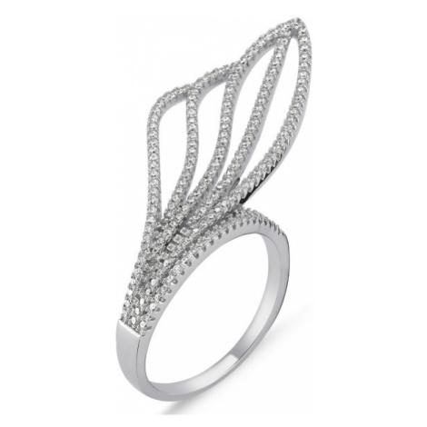 OLIVIE EXTRAVAGANTNÍ stříbrný prsten 1427