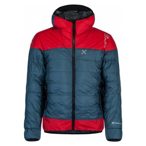Pánská péřová bunda Montura Summit Duvet Red - Blue